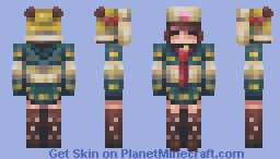 Hippo Pal // Cute Kinda Collab Minecraft Skin