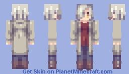 hisoka mikage Minecraft Skin