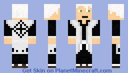 Hitsugaya - Bleach Minecraft Skin