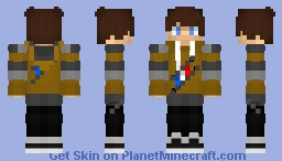 UnePersonne's winter skin | 2020 Minecraft Skin