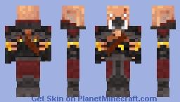 Hoglin Hunter (skin version) Minecraft Skin