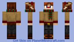 Holiday Reindeer outfit Minecraft