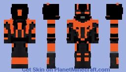 futuristic time travel suit Minecraft Skin