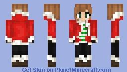 Holly Jolly Jacket Minecraft Skin