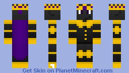 Batclone (Ruling with Mods) Minecraft Skin