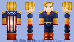 The Homelander Minecraft Skin