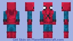 Spiderman ( Homemade Suit ) Minecraft Skin