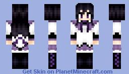 Madoka Magica: Homura Akemi (暁美 ほむら) Minecraft Skin