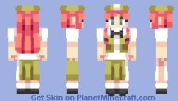 Hong Meiling ホン・メイリン   Touhou 東方 Minecraft Skin