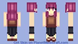 Honoka [Yanderella] Minecraft Skin