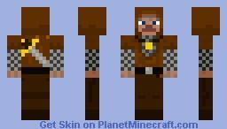 Hooded Swordsman Minecraft Skin