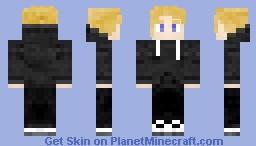 Blonde Teen in a Hoodie [Request] Minecraft Skin