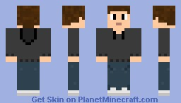 Hooded Dude Minecraft Skin