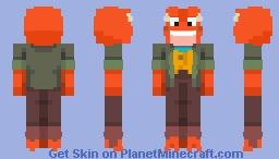 Hop Pop | Amphibia Minecraft Skin