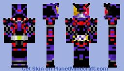 Kamen Rider Horobi Ark Scorpion 仮面ライダー滅アークスコーピオン Minecraft Skin