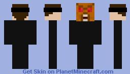 Horror Mask Minecraft Skin