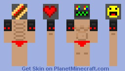 Hot Dog Skin Minecraft Skin