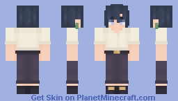 𐐪 howl pendragon [black hair ver.] 𐑂 | howl's moving castle Minecraft Skin