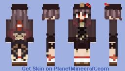 Hu Tao - Genshin Impact Minecraft Skin