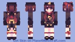 Hu tao👻 Minecraft Skin
