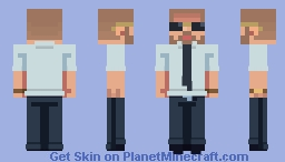 THERE IS NO TRUTH ONLY WHO YOU CHOOSE TO BELIEVE Minecraft Skin
