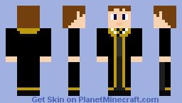 Hufflepuff Minecraft Skin