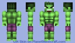 hulk Minecraft Skin