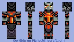 Deathwing (Human Form) Minecraft Skin
