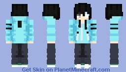 Ken Kaneki [Human (Tokyo Ghoul)] Minecraft Skin