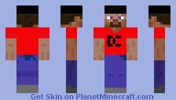 DC minecraft Minecraft Skin