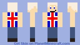 Humon Iceland Minecraft Skin
