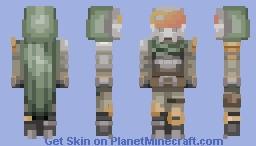 Destiny Hunter Minecraft Skin