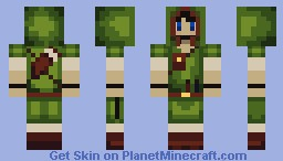 Ranger/Archer (for HazelOrbs skin contest; LOOKS BETTER IN PREVIEW)) Minecraft Skin