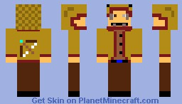 Hunter skin Minecraft Skin