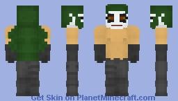 Hyena - Creed H. Quinn - Amalgam Comics Minecraft Skin