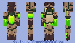 ☣☣ HYENA /// 𝘛𝘖𝘟𝘐𝘊, 𝘎𝘌𝘛 𝘏𝘐𝘛 Minecraft Skin