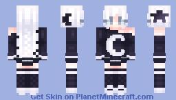 ⭐ I feel the sky tumbling down 🌙 Minecraft Skin
