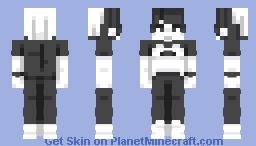 2 colors Minecraft Skin