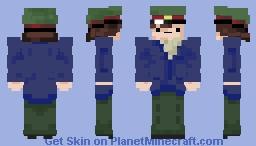 I Serve The Soviet Union Minecraft Skin