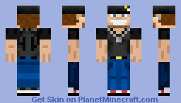 My First Skin i Ever made (Over 4 years ago ) Minecraft Skin