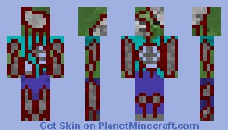 Failed lab experiment (contest entry) Minecraft Skin