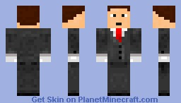 Killing Is My Business Minecraft Skin