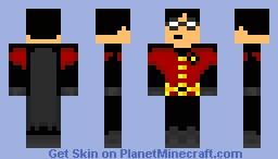 Robin (Robin + Batman) Minecraft Skin