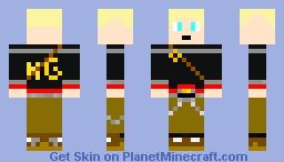 Hunger Games man Minecraft Skin