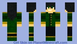 earthbender Minecraft Skin