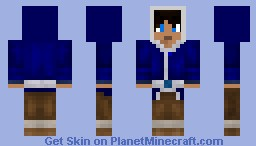 Waterbender Male (For RPing) Minecraft Skin