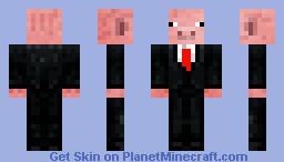 President Pig Minecraft Skin