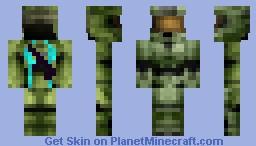 Master Cheif HD Minecraft Skin
