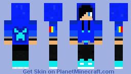 Creeper Hoodie Guy (Hood Up) Minecraft Skin