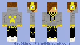 hooded boy Minecraft Skin